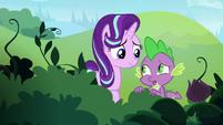 Spike -definitely not how Twilight teaches- S8E15