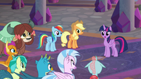 Twilight Sparkle happy for her students S8E9