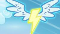 Wonderbolts insignia scene transition S6E7
