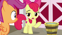 "Apple Bloom ""there's nothin' in Equestria"" S9E23"