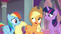"""Applejack """"to tell you the truth"""" S8E9"""