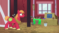Big McIntosh entering the barn S9E23