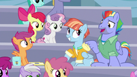 """Bow Hothoof """"you really know your Rainbow Dash history"""" S7E7"""