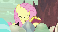 Fluttershy closes the storybook S9E9