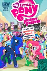 Friends Forever issue 7 cover RE BronyCon