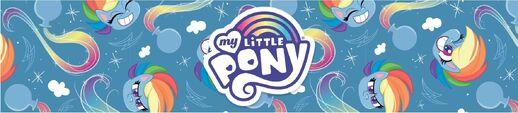 MLP Pony Life Amazon.com Rainbow Dash banner