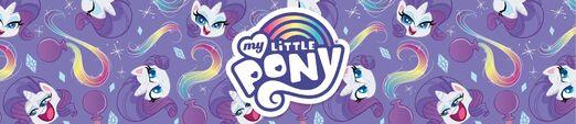 MLP Pony Life Amazon.com Rarity banner