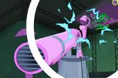 PPG ending - Mane-iac hit by recoil