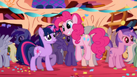 Pinkie Pie introduction Twilight Sparkle party S1E01