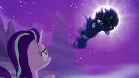 Princess Luna gets seized by changelings S6E25