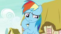 "Rainbow Dash ""I know I can't go back"" S7E23"