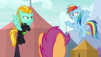 """Rainbow Dash """"beat by half a second"""" S8E20"""