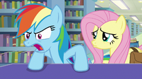 """Rainbow Dash """"we know who you really are!"""" S9E21"""
