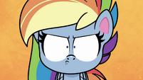 Rainbow Dash making a game face PLS1E2b