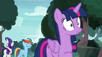 Rarity and Dash refuse to resolve their problems S8E17