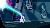 Rarity blasts another dress with magic S5E13