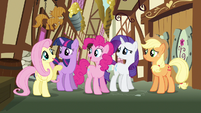 Rarity everypony accounted for S3E7