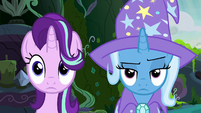 Starlight and Trixie in the feelings forum S7E17