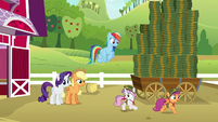 Sweetie Belle --hit every house in Ponyville!-- S6E15