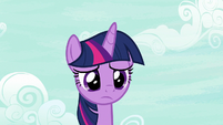 Twilight Sparkle watches the CMC leave S7E14