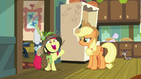 """Apple Bloom """"busiest orchard in Equestria!"""" S9E10"""