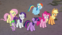 """Fluttershy """"what does that mean?"""" S8E26"""