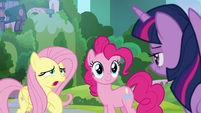 """Fluttershy """"what makes you so sure?"""" S9E15"""