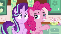 Pinkie introduces Starlight to Mrs. Cake S6E6