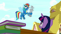 """Rainbow Dash """"for second place"""" S8E18"""