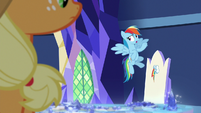 """Rainbow Dash """"to be who he really is"""" S8E21"""