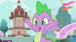 Spike arms waving frantically S01E19