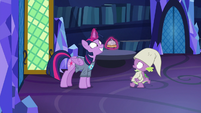 """Spike backs away, asks """"another what?"""" S9E16"""