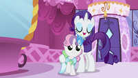 """Sweetie Belle is Rarity's """"plus-one"""" S5E7"""