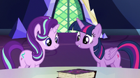Twilight Sparkle -if we can get these lessons- S7E14