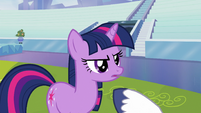 Twilight expressing her confidence S3E12