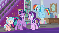 Twilight says Starlight did her spell wrong S8E25