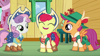 "Apple Bloom ""the more chances we'll have to finally get our cutie marks!"" S6E4"