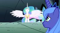 Celestia walks to Luna S1E2