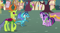 """Ember """"another part of pony friendship"""" S7E15"""