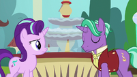 Firelight hanging his head in shame S8E8