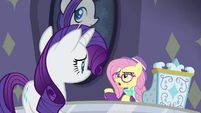 """Hipster Fluttershy """"how lame customers are"""" S8E4"""