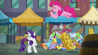 """Pinkie Pie """"a rock pouch was the perfect gift"""" S6E3"""