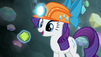 """Rarity """"this will surely make my gown stand out"""" S7E4"""
