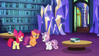 "Scootaloo ""find out what's going on"" S6E19"