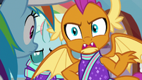 """Smolder """"try to help us get better!"""" S9E15"""