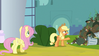 """Applejack """"clean up all this garbage"""" S9E13"""