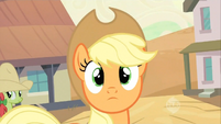 Applejack being spotted S2E14