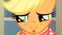 Applejack looking tense S01E22