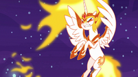 Daybreaker gets thrown by Nightmare Moon's blast S7E10