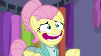 """Fluttershy """"one moment, please"""" S8E4"""